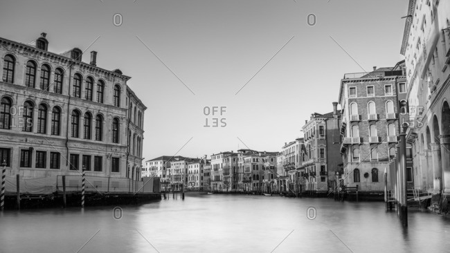 View of Grand Canal, Venice