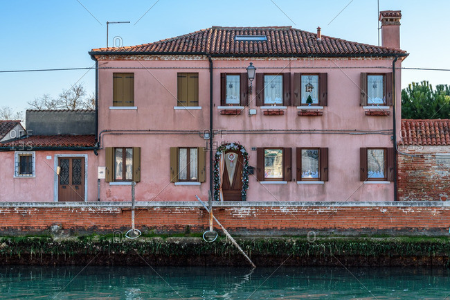 A home along canal in Venice