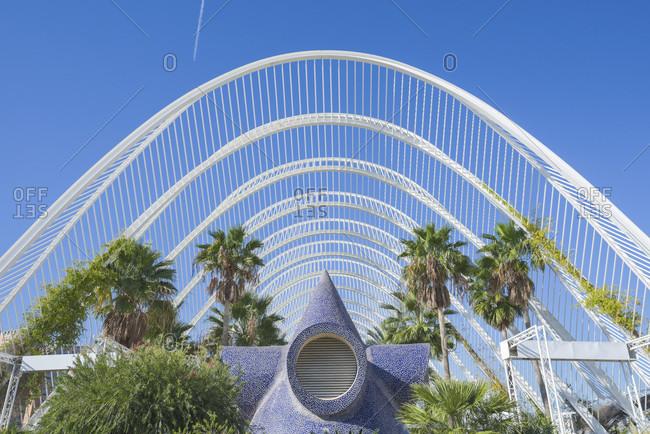 City of Arts and Sciences, Valencia, Spain - November 16, 2015: City Of Arts And Sciences In Valencia, Spain, Europe