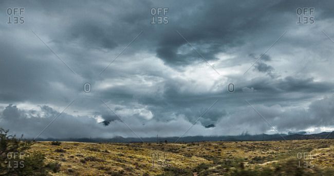 Storm Clouds Form Outside Of Las Vegas, Nevada