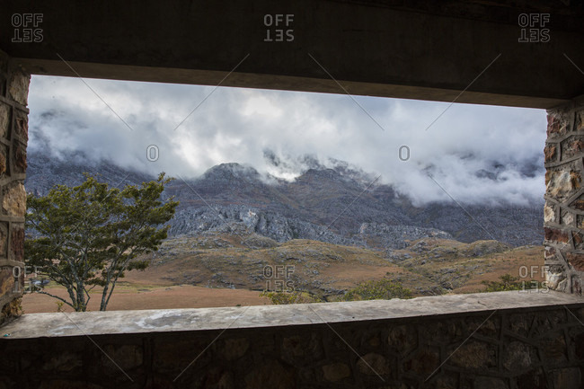 View From The Porch Of The Cabin That Sits At The Top Of Chimanimani National Park, Zimbabwe