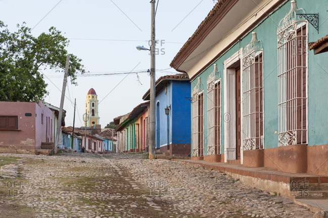 Colorful House In The Streets Of Trinidad, Cuba