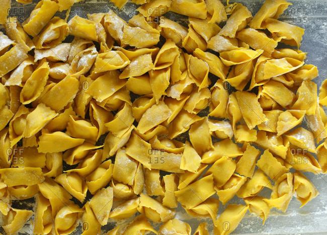 Hand Rolled Fresh Italian Pasta, Osteria Battaglino, Dogliani Piedmont, Italy