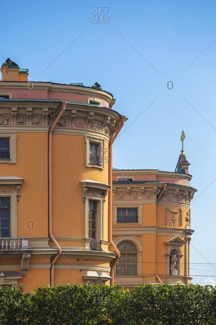 Mikhailovsky Castle In Saint Petersburg, Russia