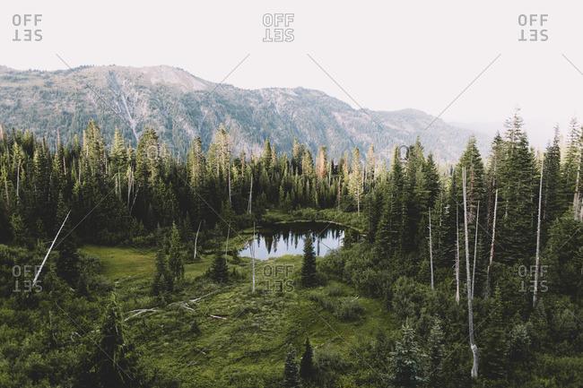 Snow Lake in Washington state