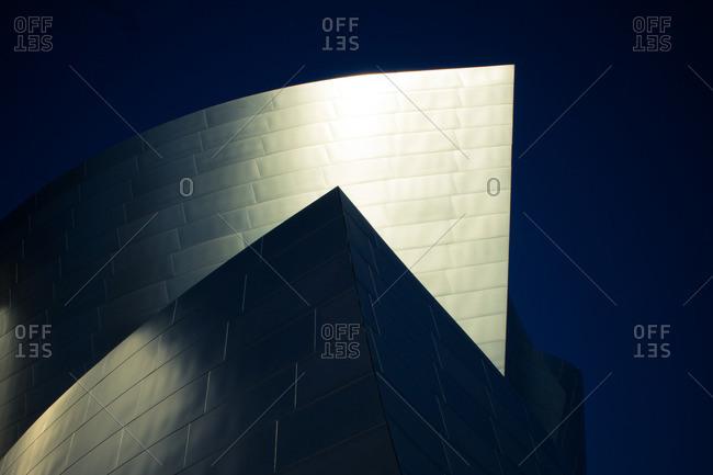 Los Angeles, California - November 3, 2012: Walt Disney Concert Hall in Los Angeles