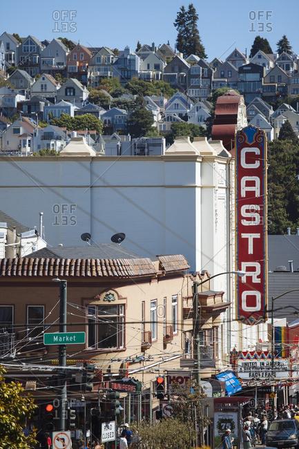 San Francisco, USA - June 19, 2012: Castro Theatre in San Francisco