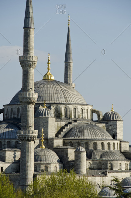 Yeni Camii, The New Mosque or Mosque of the Valide Sultan located in the  district of Istanbul, Turkey