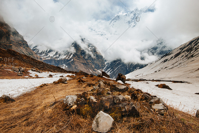 ABC trek (Annapurna Base Camp trek), Nepal