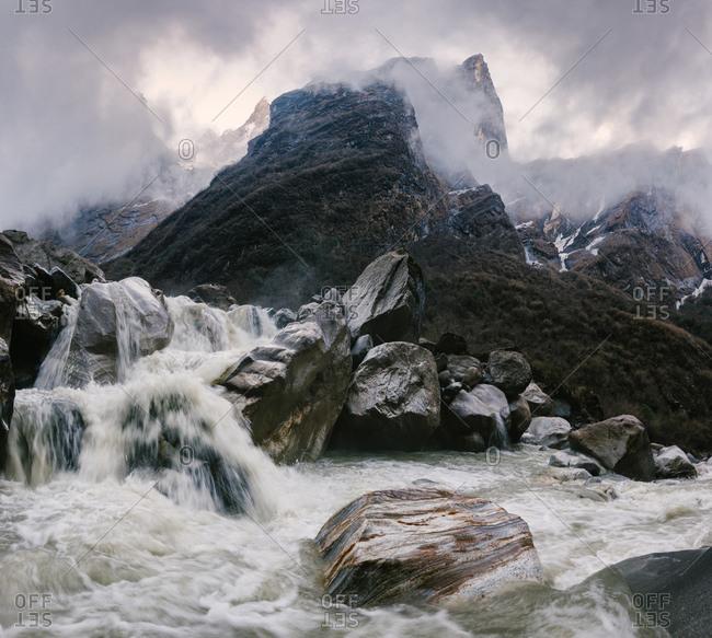 Chomrong Village Area, ABC trek (Annapurna Base Camp trek), Nepal