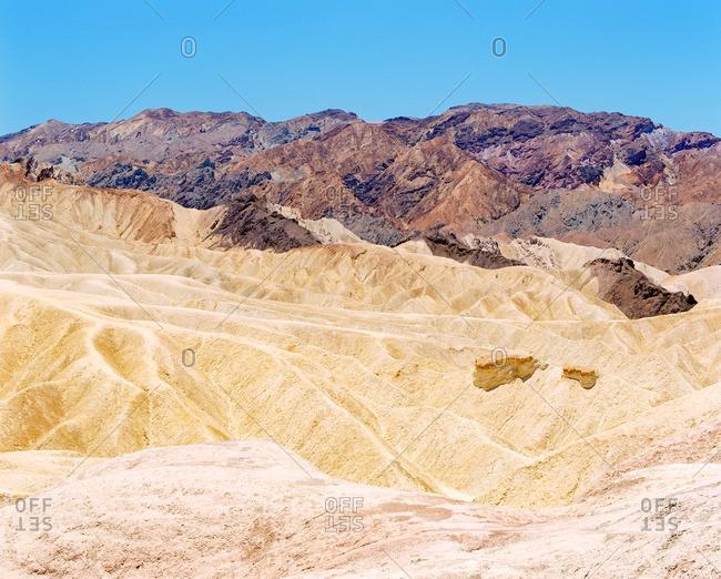 Arid mountain range