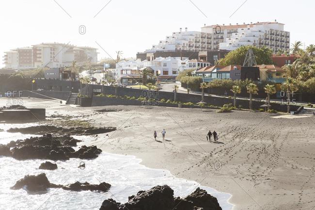 12/19/16 - Spain, Isle of La Palma: Beach at Los Cancajos, not far from the capital of Santa Cruz de La Palma.