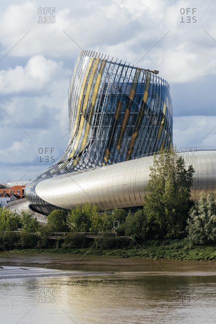 Bordeaux, France - May 29, 2016:  La Cite du Vin