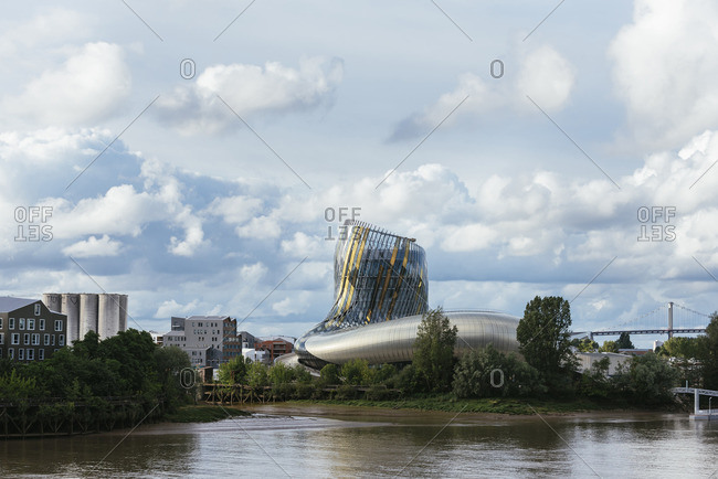 Bordeaux, France - May 29, 2016: The Wine Museum in Bordeaux