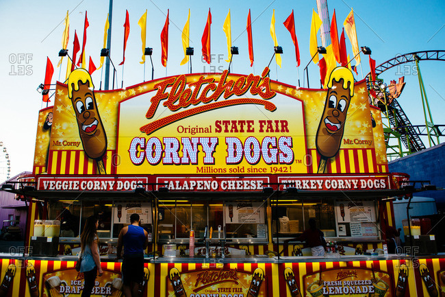 Dallas, Texas - October 11, 2016: Sights from the State Fair of Texas