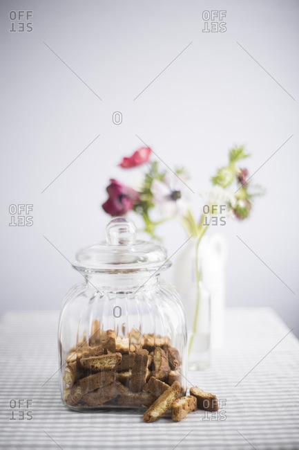 Cookies and a cookie jar