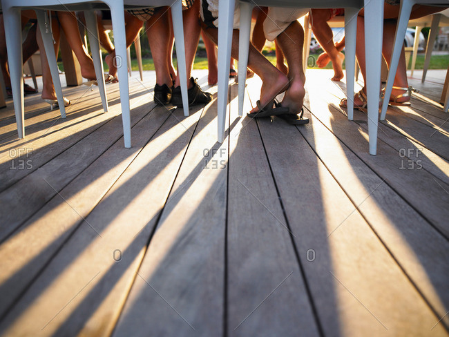 Leg Under Table Stock Photos Offset