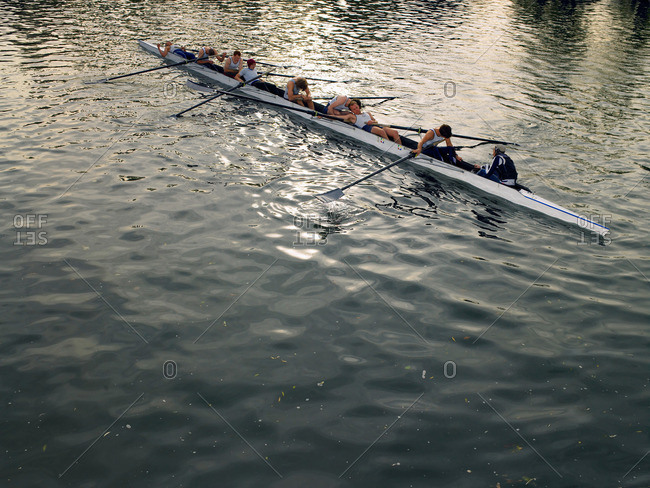 Crew recovering after race piece