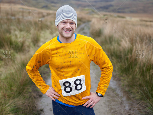 Portrait of runner