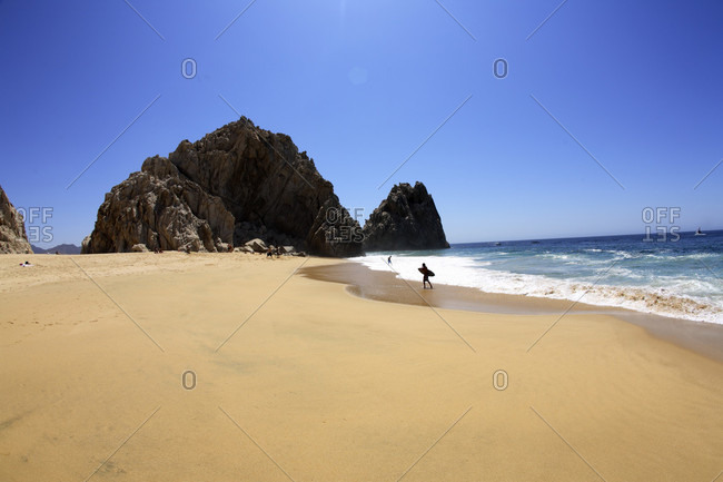 Divorce Beach near El Arco in Cabo San Lucas in Baja, Mexico