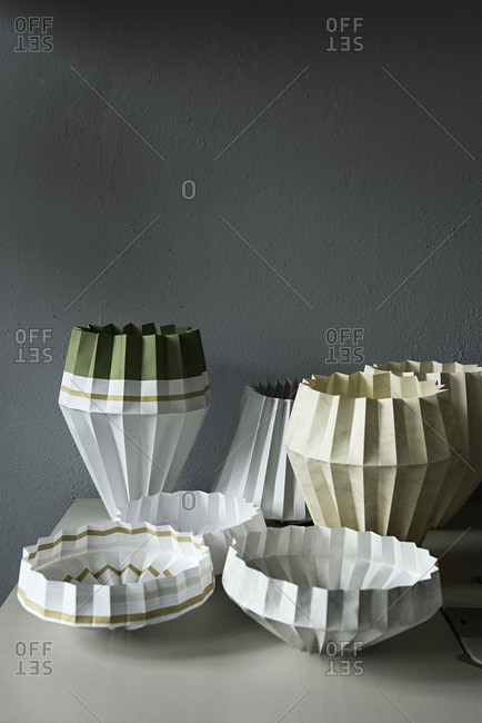 Variety of lampshades