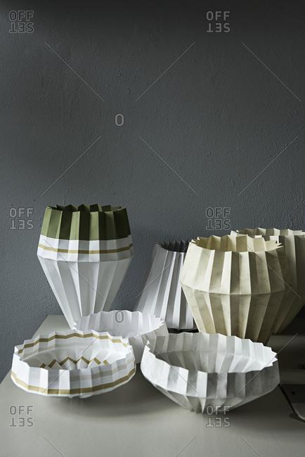 Variety of lampshades