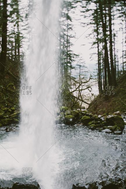Waterfall in Portland, Oregon