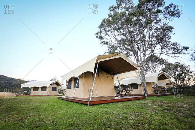 Tents for rent in Australian Outback