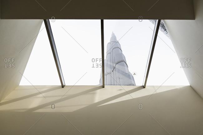 Downtown Dubai, At The Top Burj Khalifa, view of Burj Khalifa