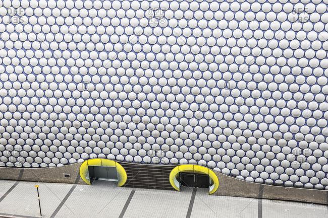 Bullring Shopping Centre area, detail of the Selfridges Building, architect: Jan Kaplick_ and Amanda Levete