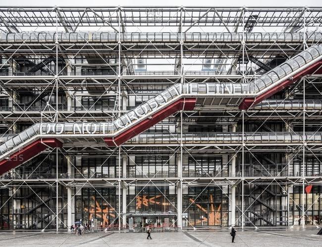 Beaubourg, the Centre Pompidou