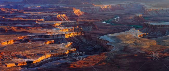 Colorado River, Canyonlands National Park, Utah, USA