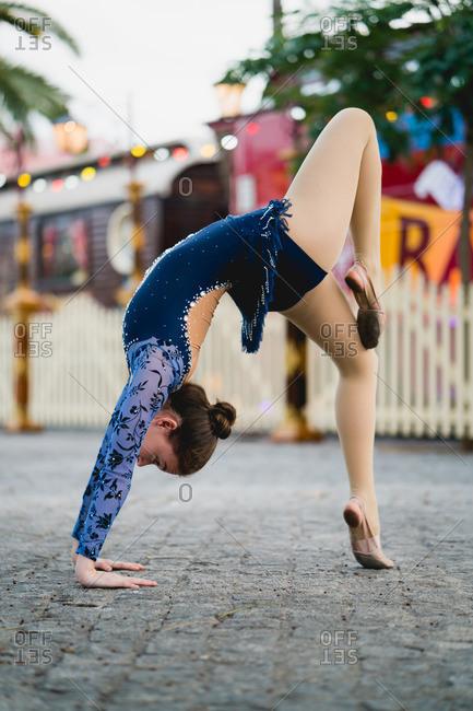 Ballerina in Barcelona