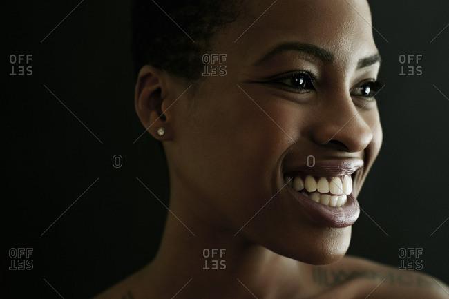 Portrait of smiling Black woman