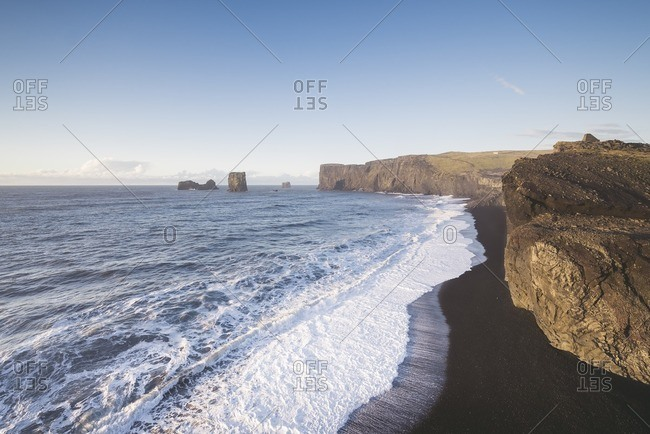 Iceland- South Iceland- Reynisfjara beach