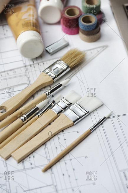 Architectural project and interior design samples and tools