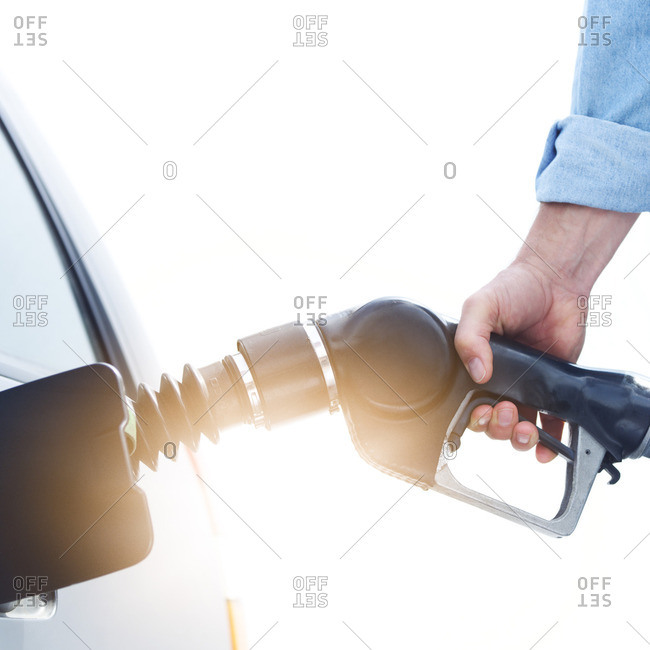 Man refueling car - Offset Collection
