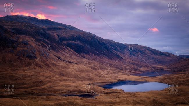 Isle of Mull sunrise, Inner Hebrides, Scotland, United Kingdom, Europe