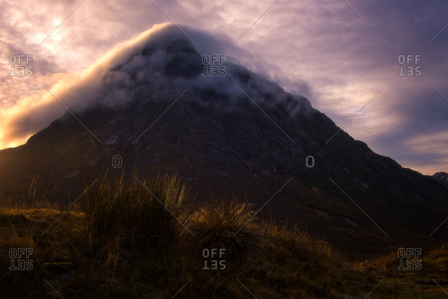 Buchaille Etive Mor, Glencoe, Highlands, Scotland, United Kingdom, Europe