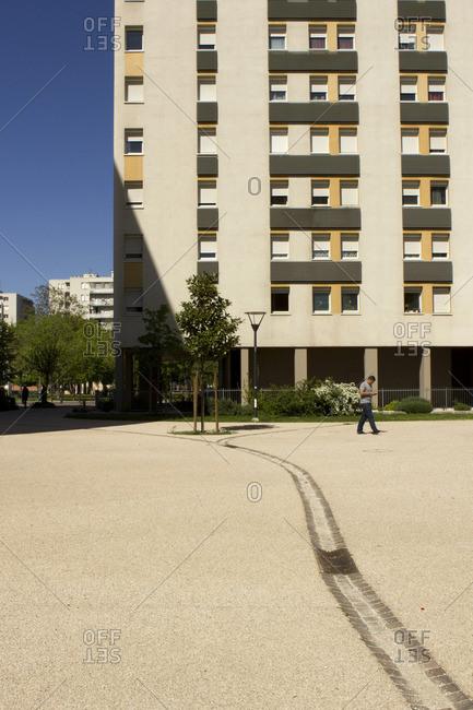 France - April 15, 2014: France, South-West of France, Toulouse, Faourette neighbourhood
