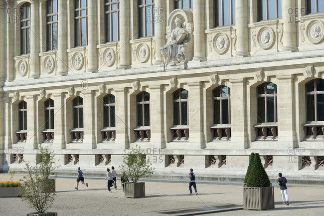 France, Paris, 5th district. Jardin des plantes. The Grande Galerie de l'Evolution
