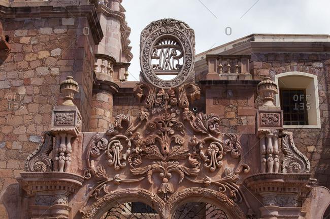 Mexico, Zacatecas state, Guadalupe, near Zacatecas, Sanctuary Nuestra Senora de Guadalupe, 17th century
