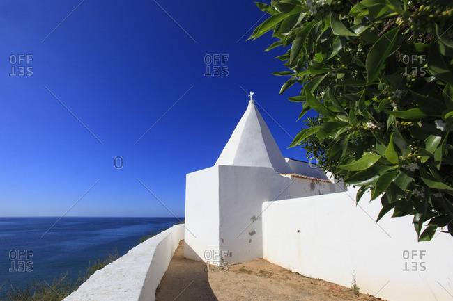 Portugal, Algarve. Senhora da Rocha. Vilalara. Ermida da Nossa Senhora da Rocha.