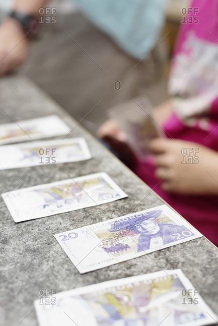 Swedish banknotes