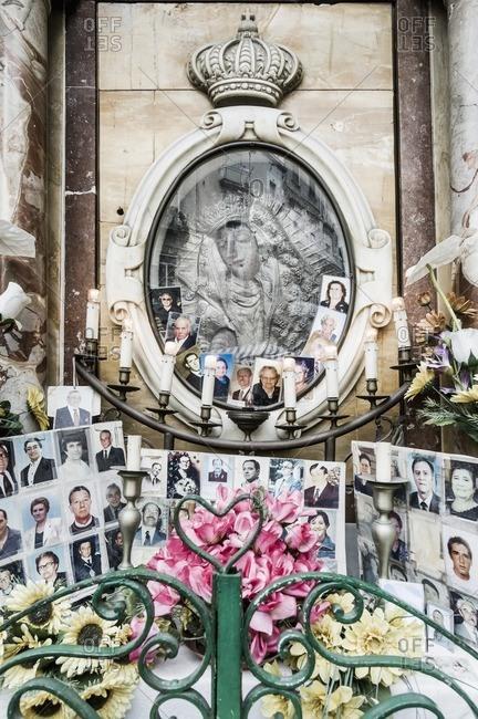Naples, Italy - May 14, 2005: Mercato (market) di Montesanto