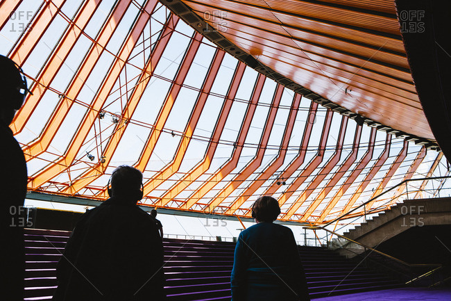 Sydney, Australia - November 14, 2016: Interior view of Opera House