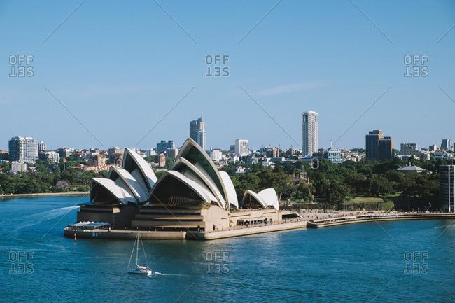 Opera House and Sydney Harbor