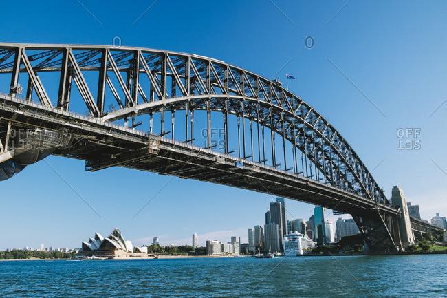 Harbor Bridge near the city
