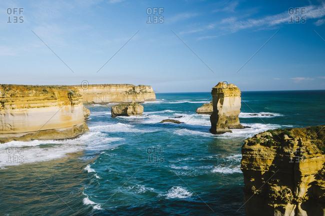 Twelve Apostles rock formations, Victoria, Australia