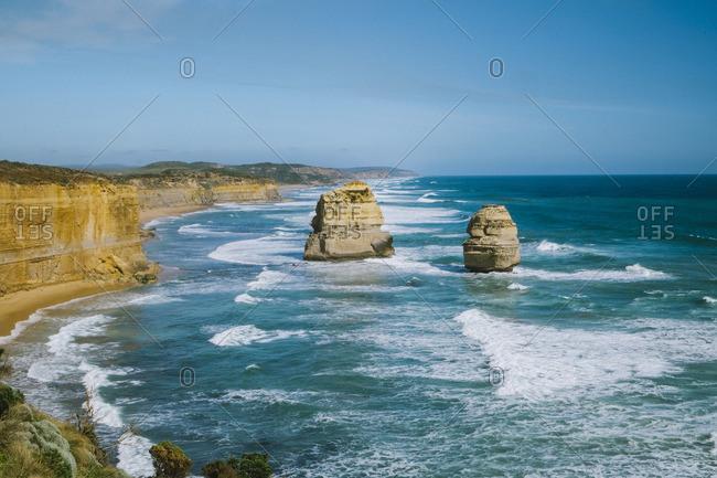 Twelve Apostles formations, Victoria, Australia